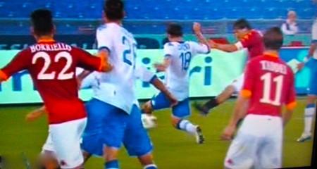 Il goal 207 di Totti