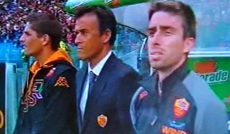 Luis Enrique elogia la squadra