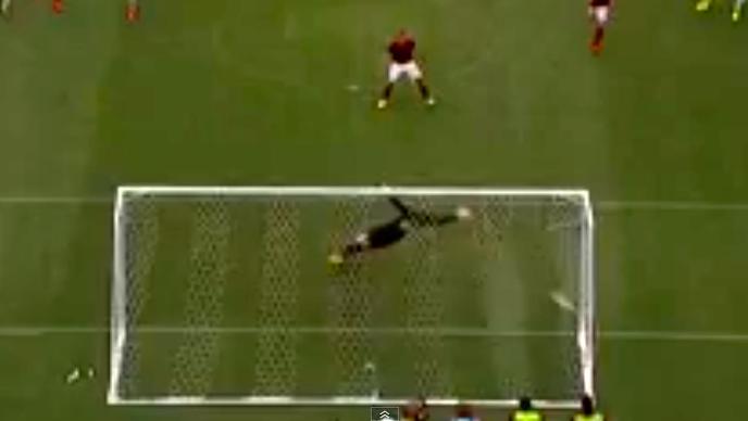 Rigore trasformato da Totti