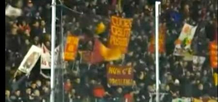 I tifosi romanisti a Cesena