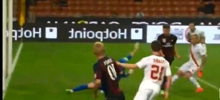 Milan-Roma 1-0 Van Ginkel