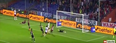 Il goal vittoria El Shaarawy