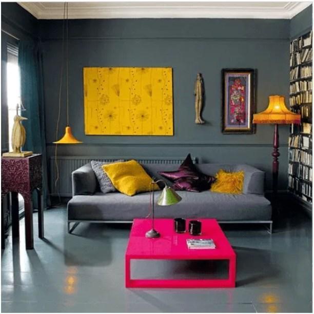 Cinza na decoração