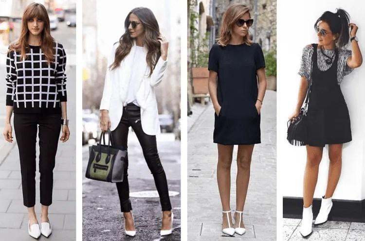 Sapatos brancos