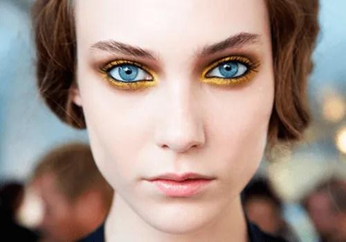 Maquiagem amarela