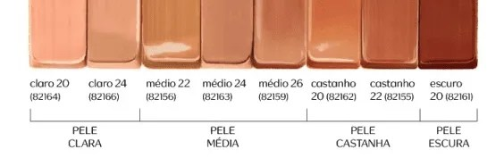 Cores da Nude Me Base Sérum