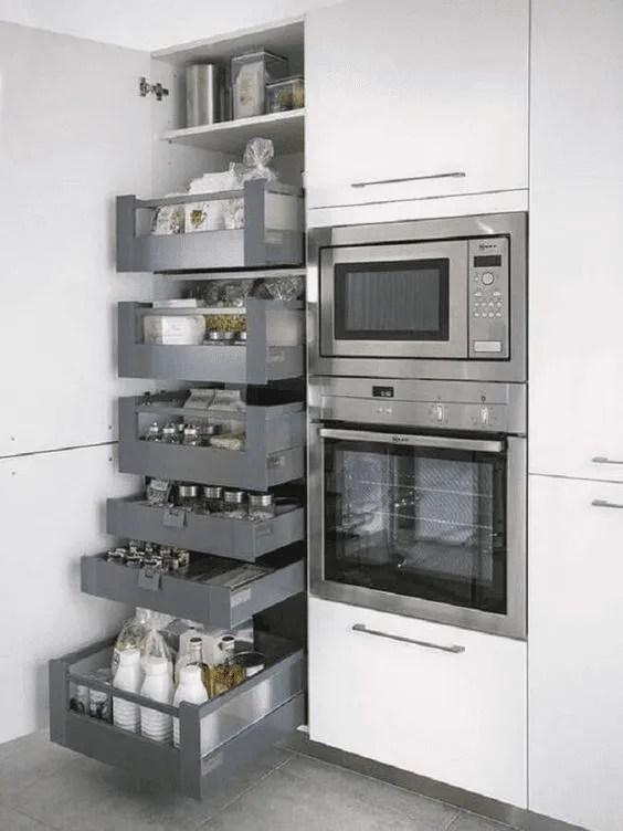 Ideias de projetos de cozinhas planejadas