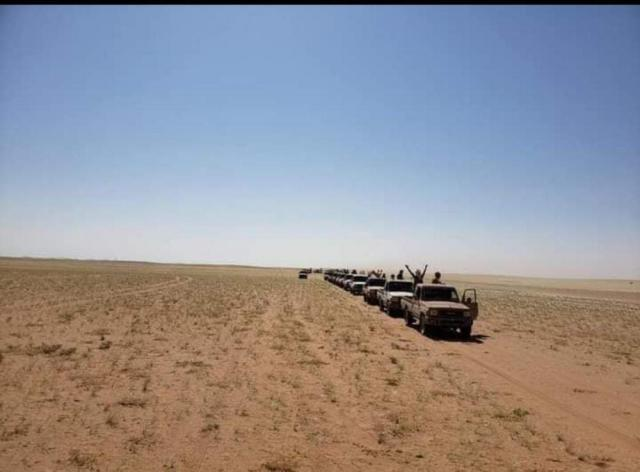 The arrival of new support for the heroes of the army and the resistance in the southern front in Marib