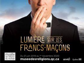Lumières sur les francs-maçons, exposition au Musée des religions du monde