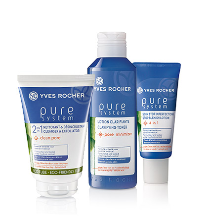Routine Pure System Yves Rocher