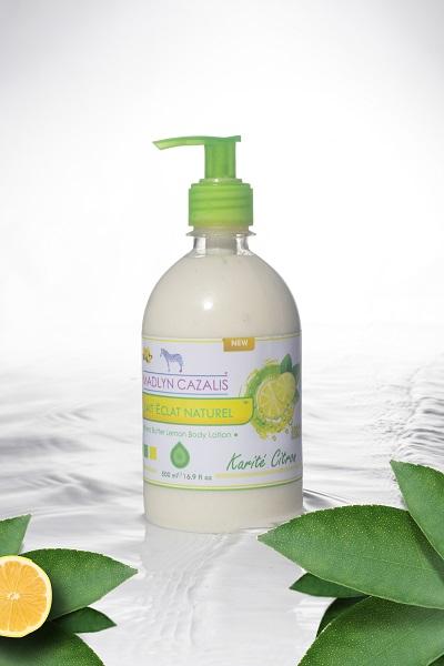 MADLYN CAZALIS Lait Eclat Naturel Karité Citron