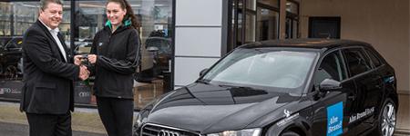 В момента: Мие получите Audi