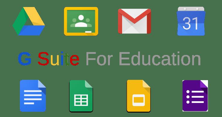 Google for education Sala de aula virtual