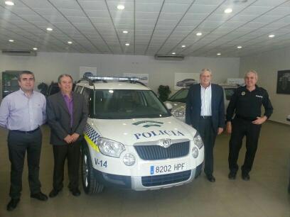 Vera adquiere un nuevo vehículo para la Policía Local