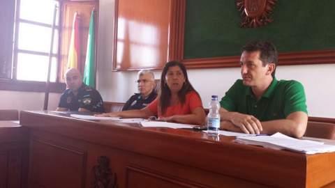 Encuentro de trabajo informativo con el sector inmobiliario de Mojácar