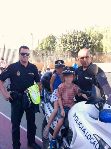 La Policía Local de Pechina se acerca a los escolares del municipio