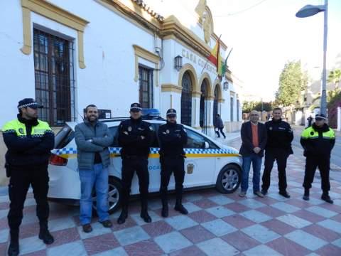 La Policía Local estrena nuevo coche