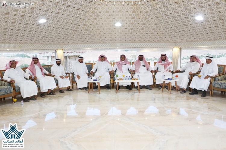 مجلس بلدي المذنب يستضيف المجلس البلدي لبلدية محافظة الداودمي
