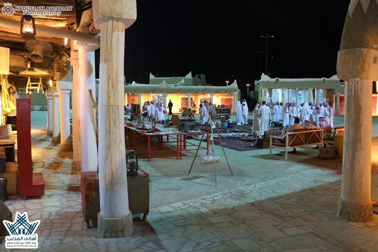 تغطية المزاد الشهري ( ذو القعدة ) على القطع التراثية النادرة بسوق المجلس بمحافظة المذنب
