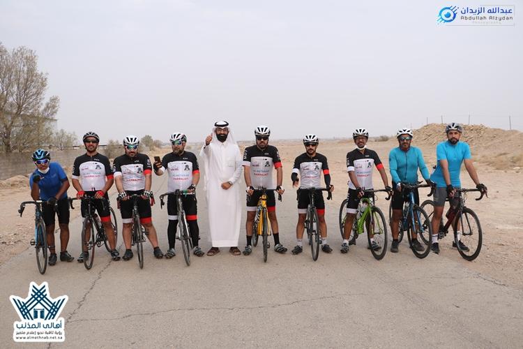 """فريق دراجتي المذنب يستمر بالتمارين بهدَف التثقيف تحت شعار """"درّاجتي صحّتي"""""""