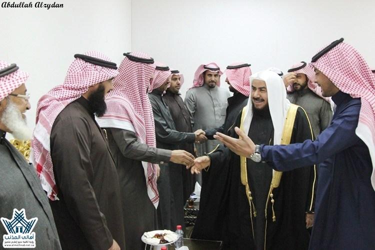 سعد الشطيطي يُقيم مأدبةعشاءللعميد:سالم الشعلان بمناسبة الترقية وللشيخ:حمدالجطيلي
