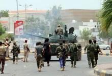 جانب من المعارك الميدانية في عدن