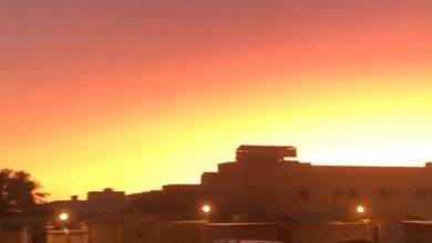 شروق الشمس قبل موعدها في السعودية
