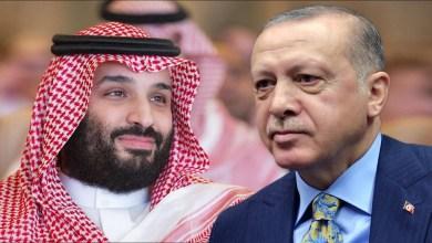 الرئيس التركي رجب طيب أردوغان وولي العهد السعودي محمد بن سلمان