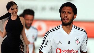 اللاعب محمد النني وعارضة الأزياء بيرين جويني
