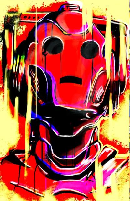 dr who cyberman