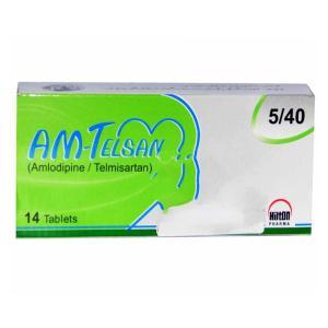 Am-Telsan Tab 5mg,40mg 14's