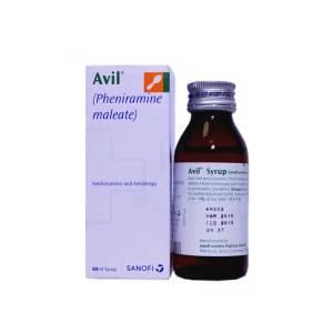 Avil Syrup 15mg 5ml 60ml