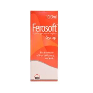 Ferosoft Syrup 50mg-5ml 120ml