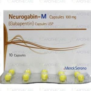 Neurogabin-M Cap 300mg 10's