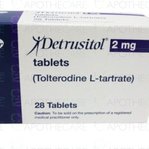 Detrusitol 2mg Tab
