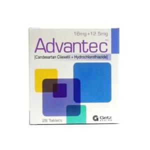 Advantec Advantec 16-12.5mg Tablet/12.5mg Tablet