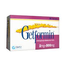 Getformin 2Plus500 Mg Tablet