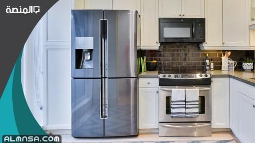 صف كيف تعمل الثلاجة على تبريد الطعام باستخدام غاز التبريد