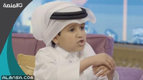 كم عمر شبل قطر ناصر الأبهق
