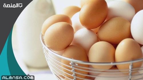 كم مدة حفظ البيض المسلوق خارج الثلاجة