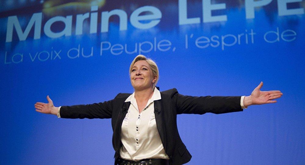 زعيمة اليمين المتطرف مارين لوبان تفوز لأول مرة بمقعد في البرلمان الفرنسي