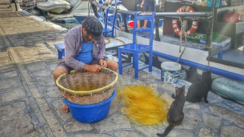 pescar în Samos Pythagorio
