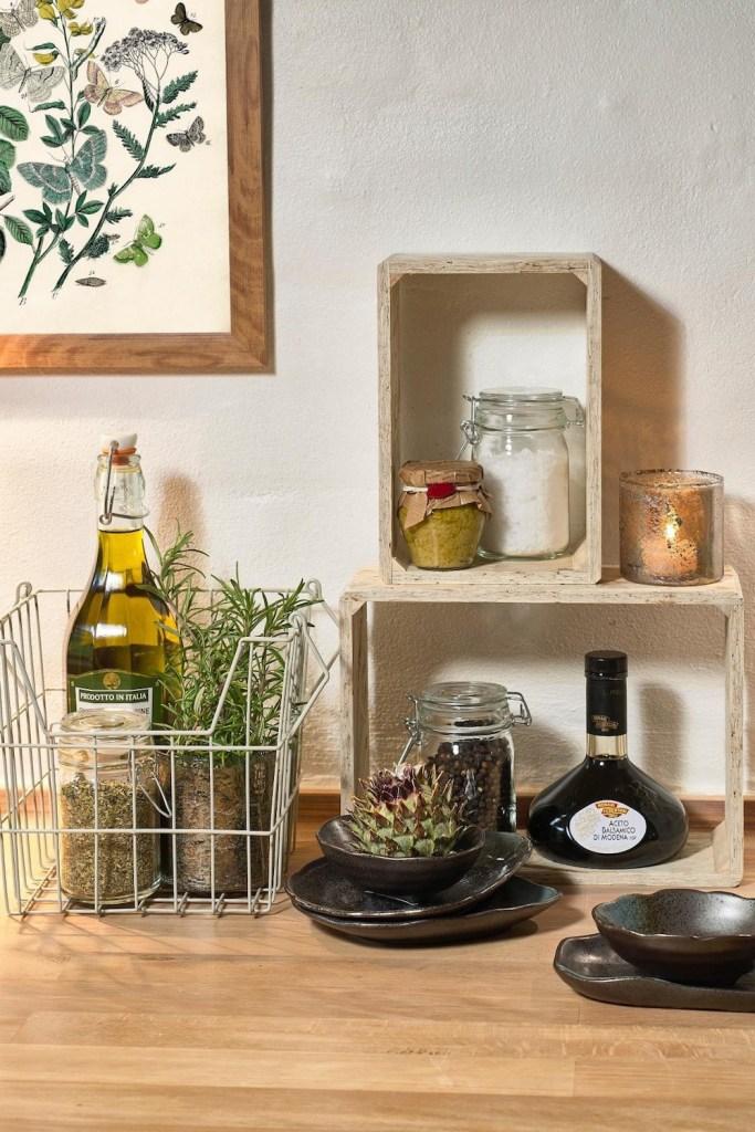 Condimente și ulei de măsline