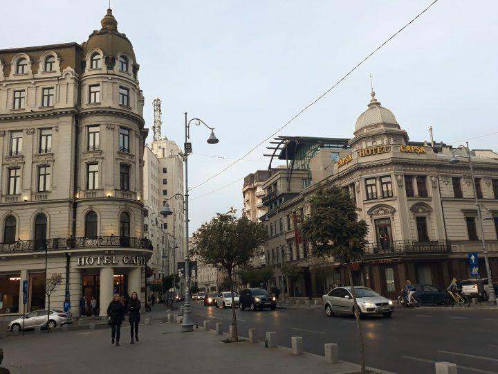 Arhitectură pe Calea Victoriei