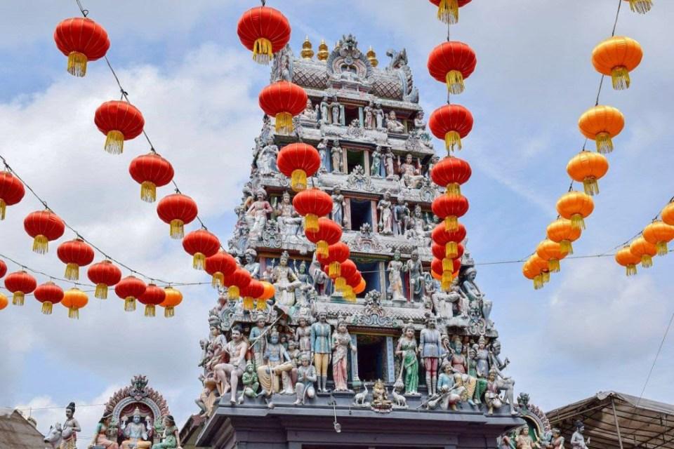 Templul hindus Sri Mariamman Singapore