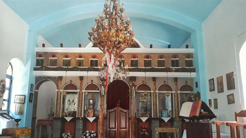 Mănăstirea Agia Triada Kastanies Ikaria