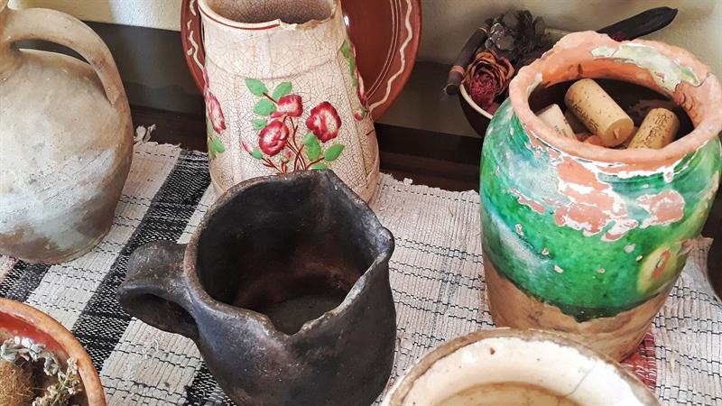 unelte tradiționale muzeul vinului Ikaria