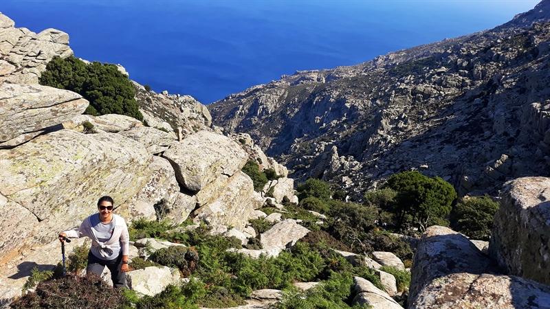Sejur în Ikaria drumeție pe platoul Erifi