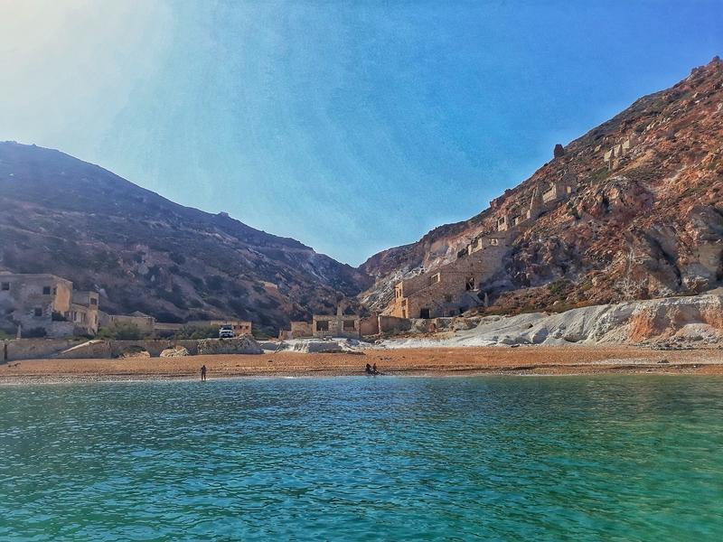 Thiorichia beach Milos