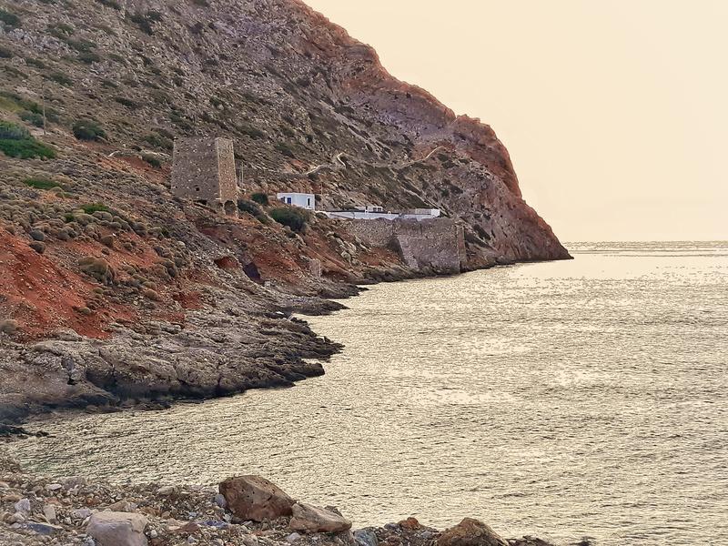 Kamares insula Sifnos